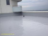 Гидроизоляция плоской крыши жидкой резиной