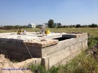 Фундамент до гидроизоляции