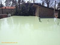 Гидроизоляция крыши полуподвального помещения