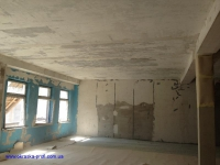 Потолок перед побелкой