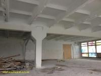 Побелка плит, стен, колонн