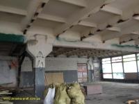 Плиты, колонны, стены до побелки