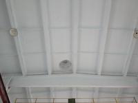 Потолок после побелки