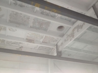 Потолок до побелки