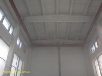 Побелка потолка с кран балки