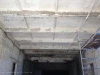 Потолок и стены до побелки