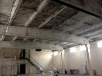 Потолок после пожара