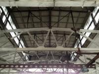 Сложный потолок из ребристых плит