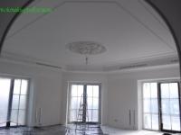 Покраска потолка и лепки 2