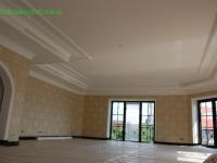 Покраска потолка и лепки 1