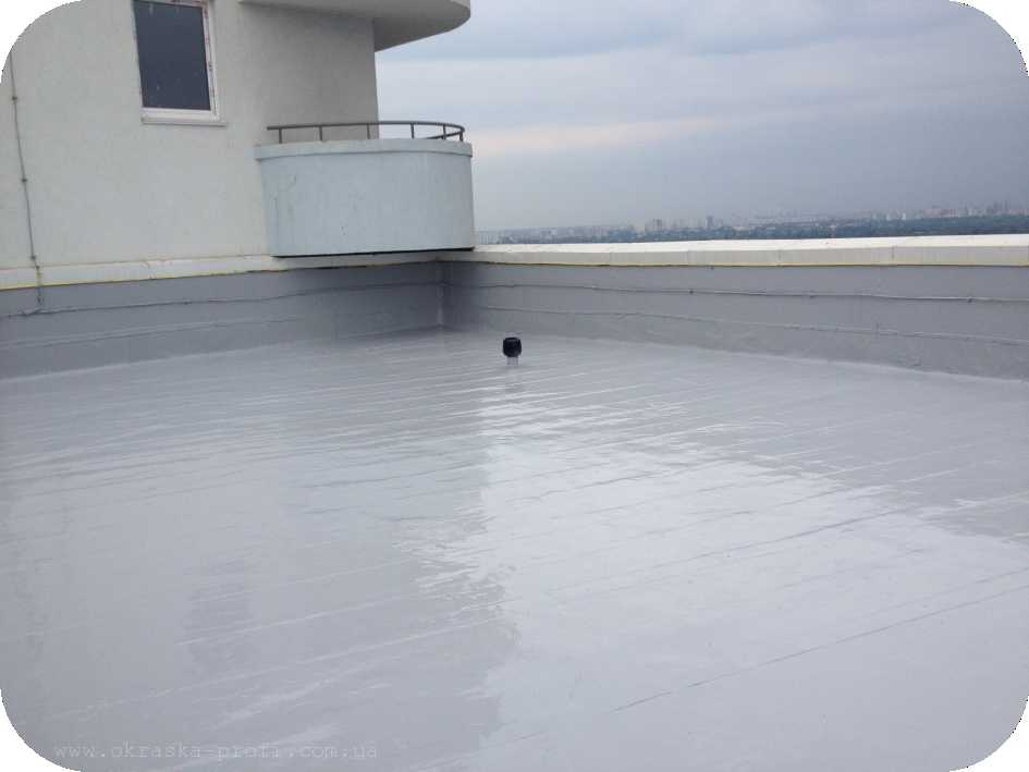 За цена гидроизоляция рулонная работу на крышу