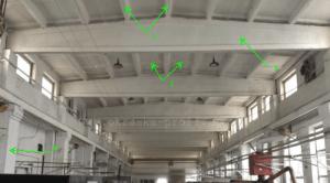 Как посчитать площадь потолка из ребристых плит