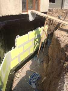 Защита гидроизоляции фундамента - 1