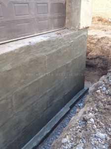 Подготовка поверхности - шпаклевание фундамента - 2