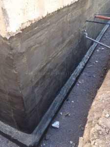 Подготовка поверхности - шпаклевание фундамента - 3