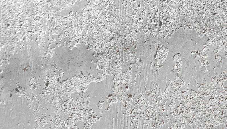 Цементное молочко на поверхности бетона