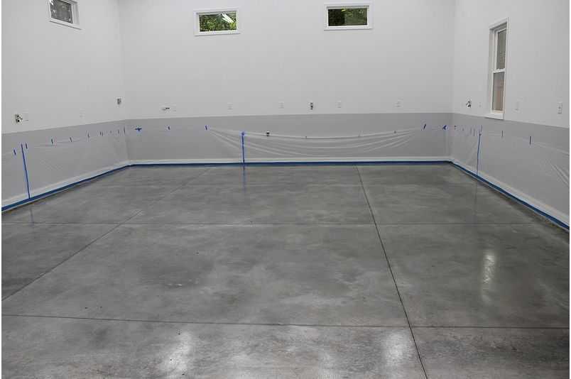 Усадочные швы в бетонном полу